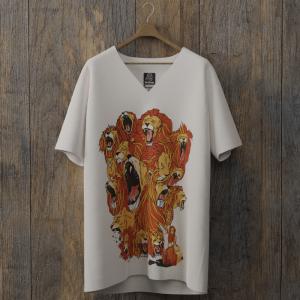 Infinit Lion 2 col v blanc randy dims